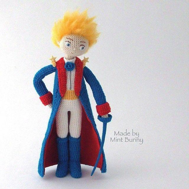 Little Prince Amigurumi Free Pattern : 17 melhores imagens sobre Bonecos Personagens em Trico e ...