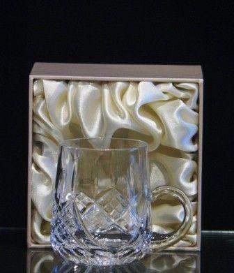 Crystal Christening Mug. Suitable for engraving. €46.00