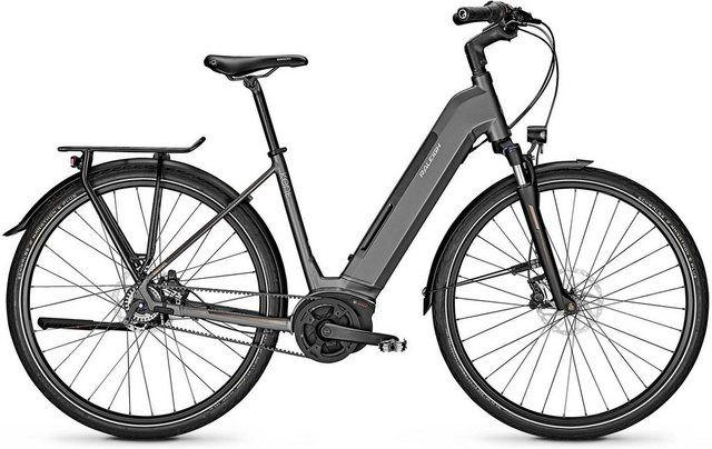 E Bike Boston Premium 8 Gang Shimano Nexus Schaltwerk Nabenschaltung Mittelmotor 250 W Laufrad Federgabel Scheibenbremse