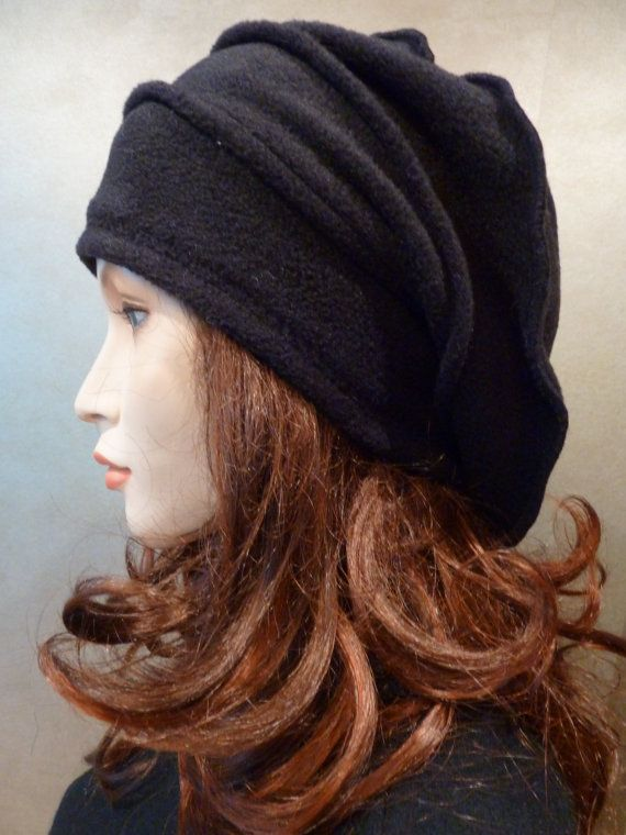 need only the face for...   -  unique slouchy chic lagenlook  black boiled wool by whitebagheera