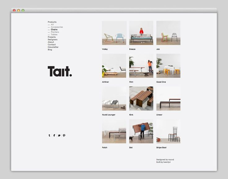 The Web Aesthetic — Tait