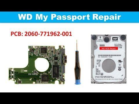 WD My Passport WD10TPVT, WD3200BPV1T, WD7500BPVT 2060 771962 002 PCB  re...