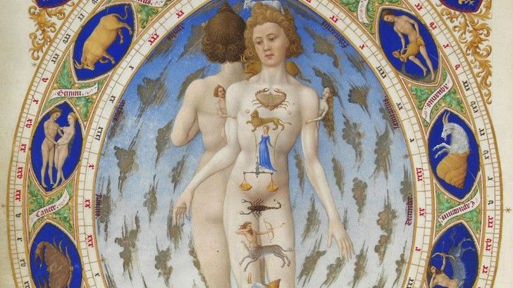 Medical Astrology - Find what parts of the body relate to the degrees of the zodiac in your chart.