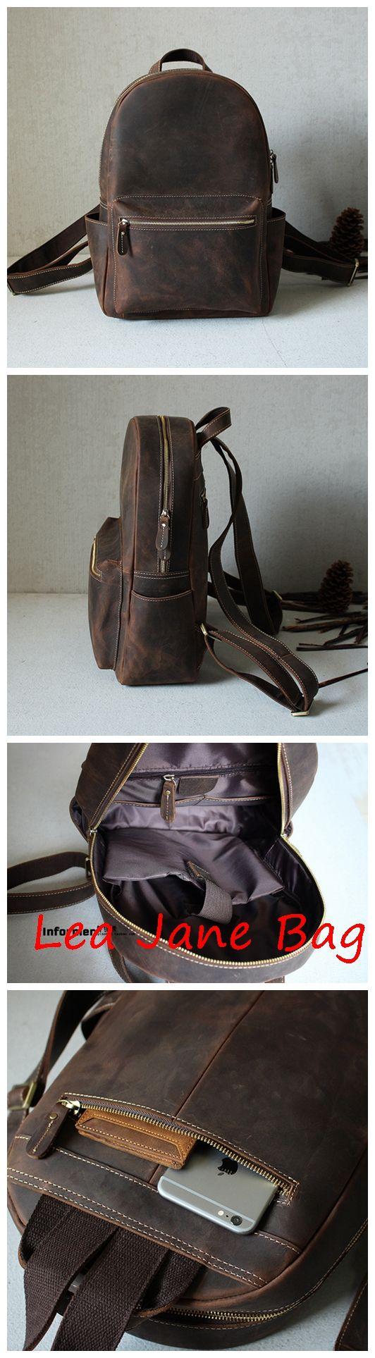 Vintage Leather Backpack,School Backpack GM008