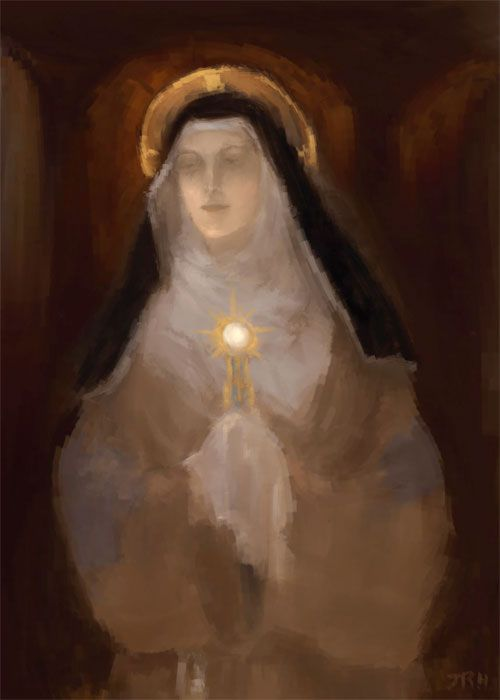 St. Clare of Assisi Stay Focused On God Have nothing to do with anyone who would stand in your way and would seek to turn you aside from fulfilling the vows which you have made to the Most High and from living in that perfection to which the Spirit of the Lord has called you. -St. Clare of Assisi