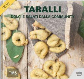 Taralli dolci e salati dalla community