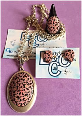 LIA CLAY CREACIONES: CONJUNTO ANIMAL PRINT ROSA Y MARRON