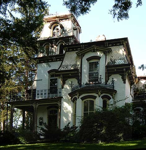 17 best images about historic homes on pinterest queen for Second empire victorian house plans