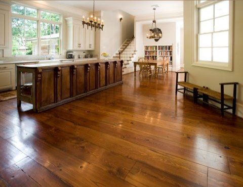 The antique heart pine flooring is a nice wood for the people who love to have a flattering and appealing floor. This flooring is popular among the home owners since it can produce antique and interesting look. The popularity and elegant look