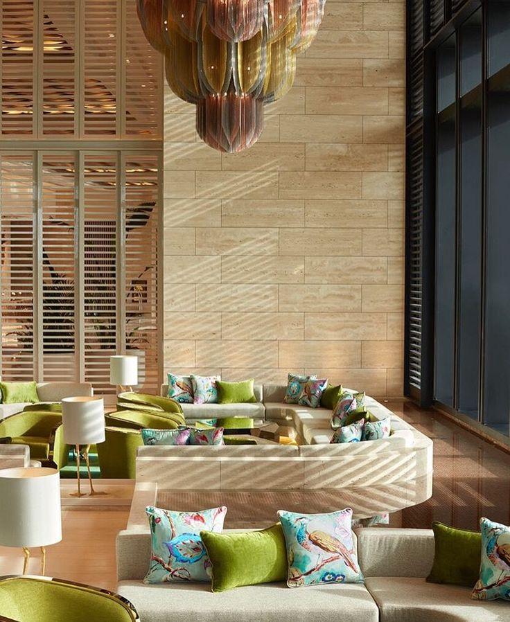 Our custom #Mandala #chandeliers for the Crown Towers in Perth.  #hoteldesign #hospitalitydesign #lightingdesign #customlighting #willowlamp  Image via Bates Smart on Instagram.
