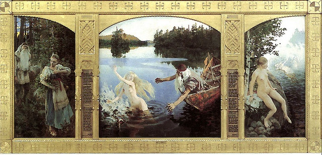 Akseli Gallen-Kallela - The Aino Myth 1891 by PCmarja2006, via Flickr