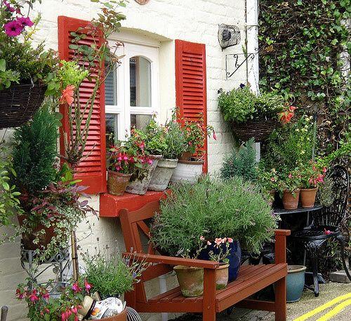 Summer Cottage Garden Secret Garden Pinterest