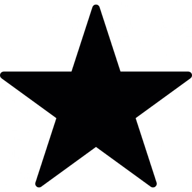 Favourite, star, IOS 7 interface symbol Free Icon