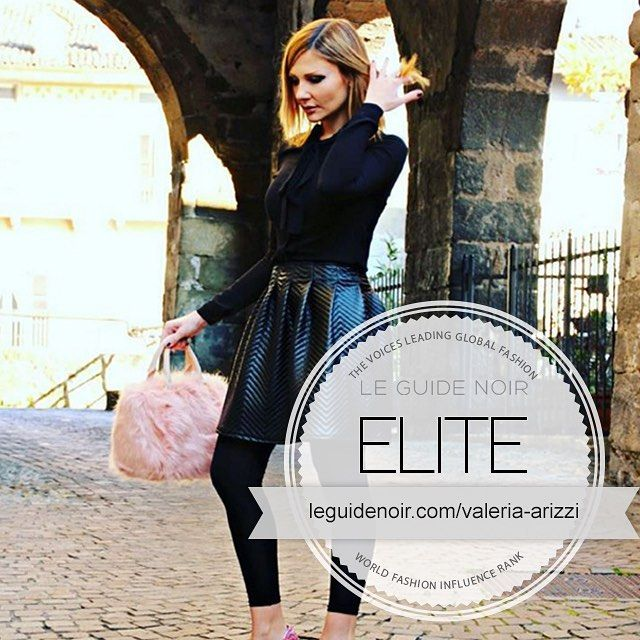 Check Out #leguidenoir World Fashion Influencers