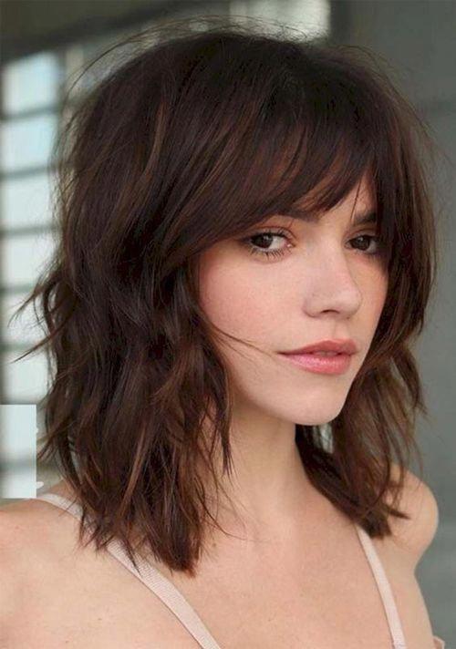 Einfache Frisuren für mittellanges Haar
