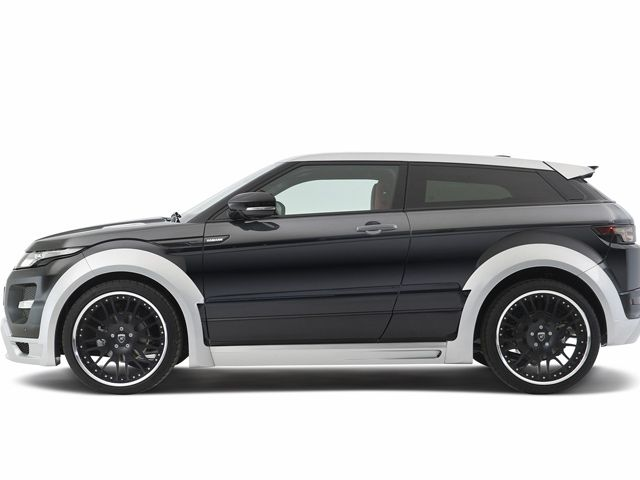 Hamann Transforms Range Rover Evoque in Time for Geneva