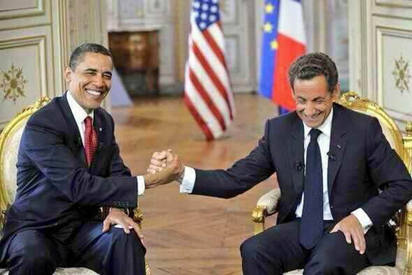Sarkozy et Obama