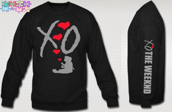XO The Weeknd Crewneck Sweatshirt XO Ovoxo Drake Crew by TeesGame, $35.99
