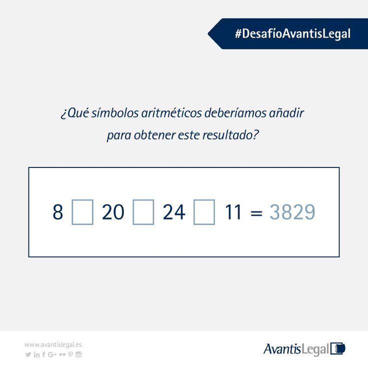 Segundo #DesafíoAvantisLegal ¿Crees que puedes encontrar la solución?