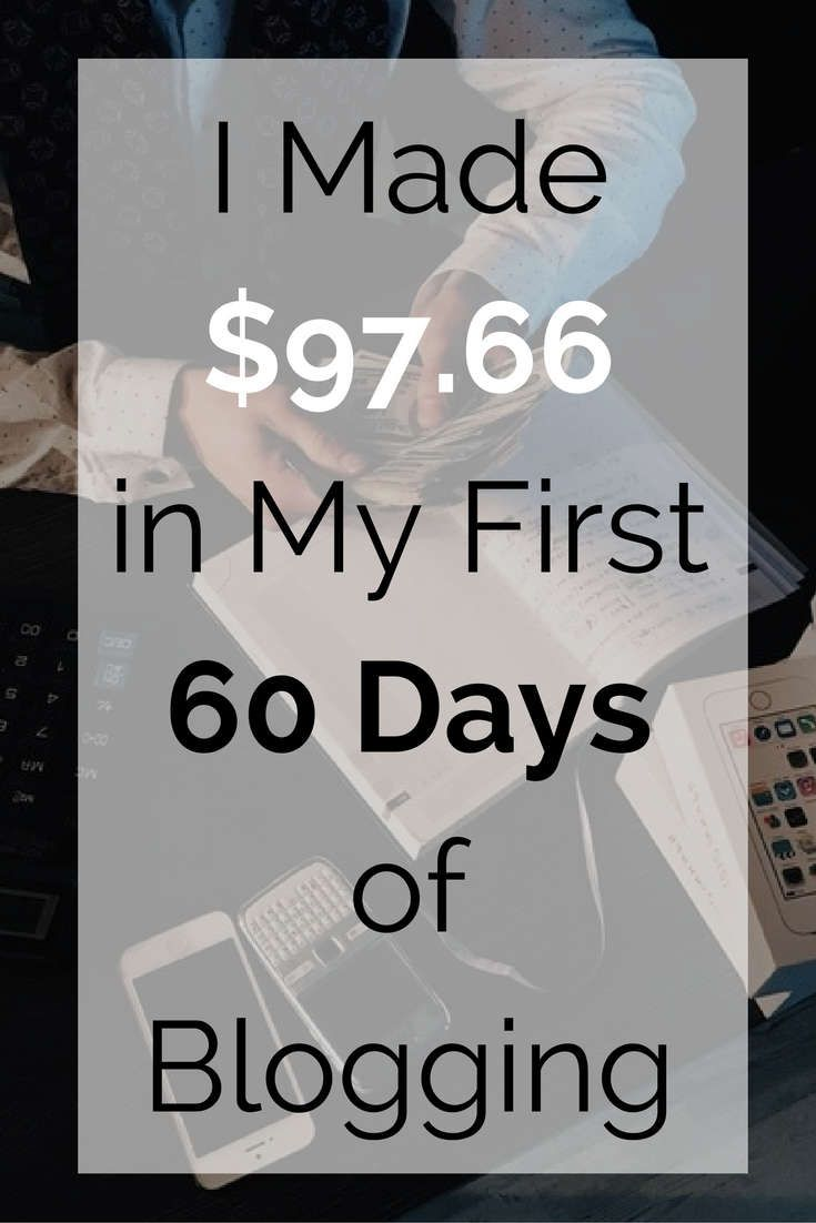 I completed 60 days of my #blog and I achieved some beautiful results. I got more than 2100 page views and made $97.66 in a single month despite being new to #blogging. Learn how I achieved it.