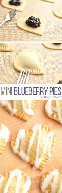 Mini Blueberry Pies | Ai Cuisine