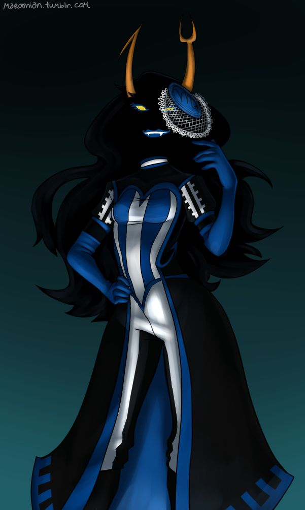 Vriska Wallpaper 1366x768 Homestuck Vriska Dress...