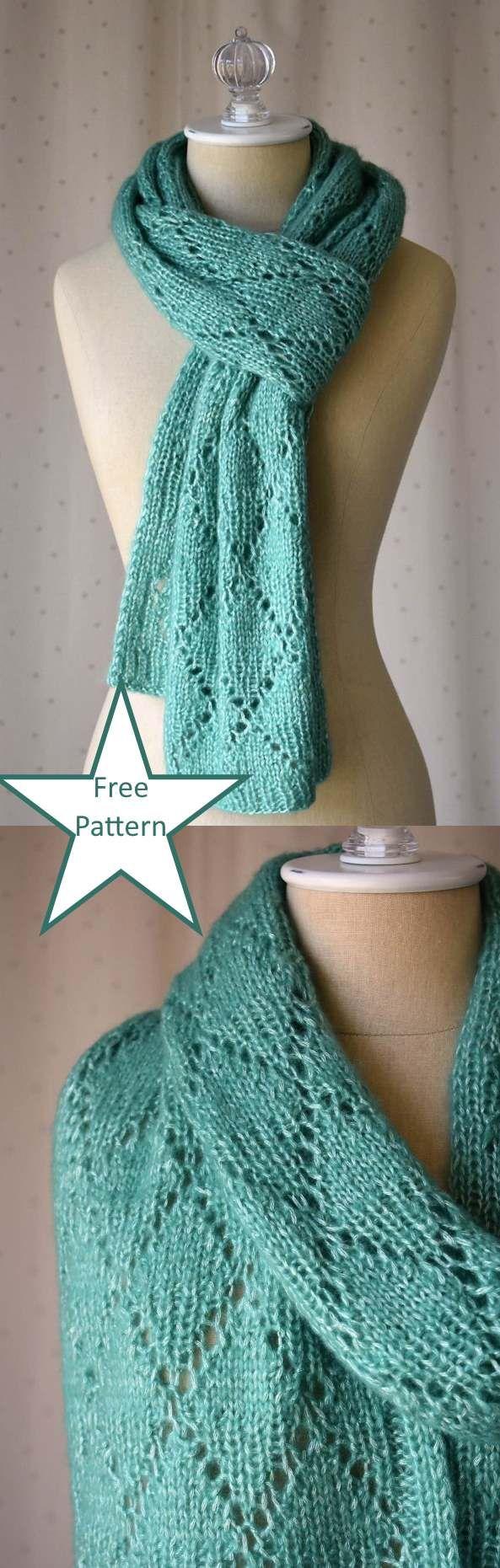 Free Scarf Knitting Patterns pdf