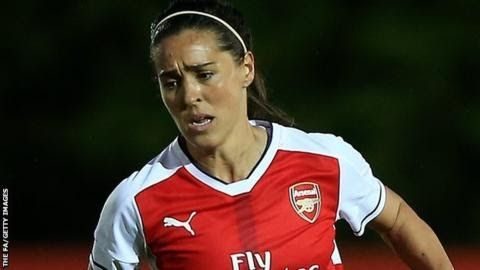 """Fara Williams moved to Arsenal in January 2016.  Reading Women have signed England midfielder Fara Williams from Arsenal on a two-year deal.  The  33-year-old who has won a record 165 caps for her country was part of  the Lionesses' squad that reached the Euro 2017 semi-finals. """"I knew when I finished the league last year with Arsenal that Reading was the only club I wanted to come to"""" Williams told the club website. """"The club wants to win trophies and I want to be a part of it."""" Williams…"""