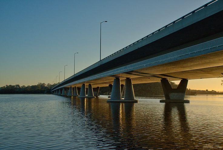 #dawn @ Mt Henry Bridge #MtPleasant #Perth #thisisWA