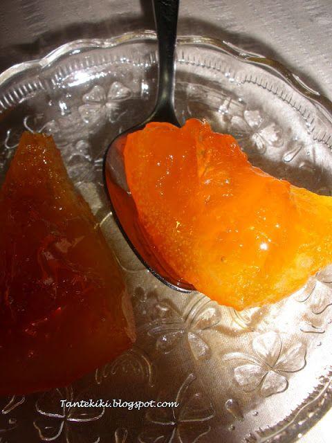 Tante Kiki: Γλυκό του κουταλιού πορτοκάλι
