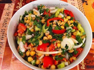 Salata cu naut: Cu Naut, Vegans Crude, Salata Cu, Raw Vegans, Retet Raw, Vegans L, Vegans Raw, Retete Vegane, Retet Vegans
