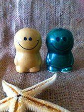 Keramik Merica Garam Mr. Smile CP :xxxxxxxxx
