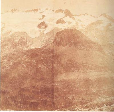 Aimé Civiale, View of Maladetta, 1866