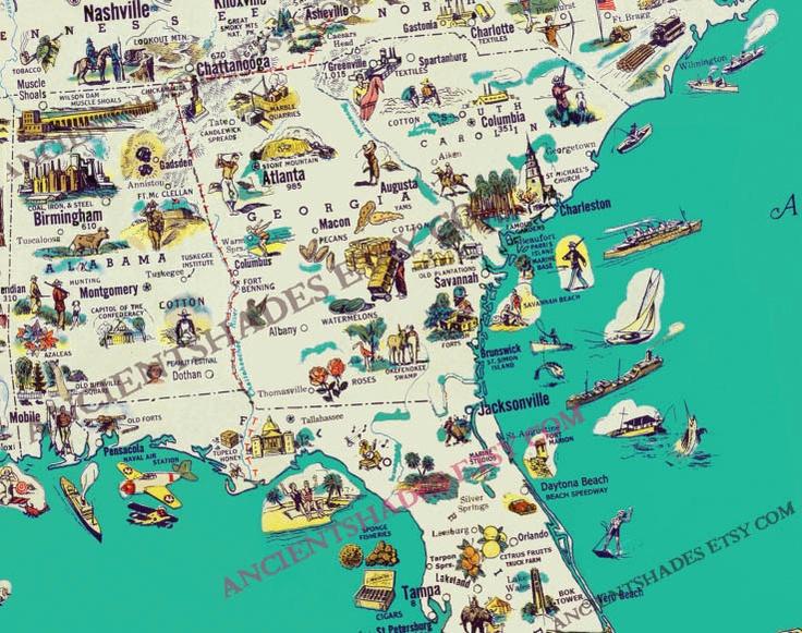 Best Illustration Maps Landmarks Infographics Images On - Us landmarks map