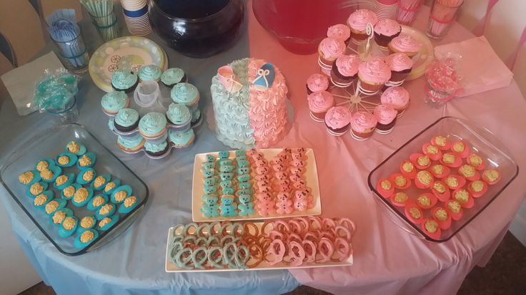 Yummy Blue & Pink Treats