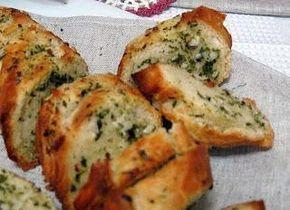 Pan de ajo bajo en carbohidratos