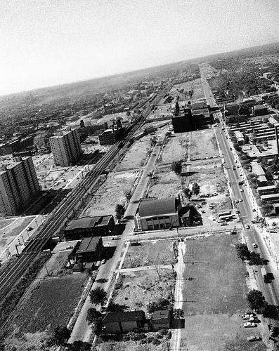 Clearance for Dan Ryan Construction, 1960   by WayOutWardell