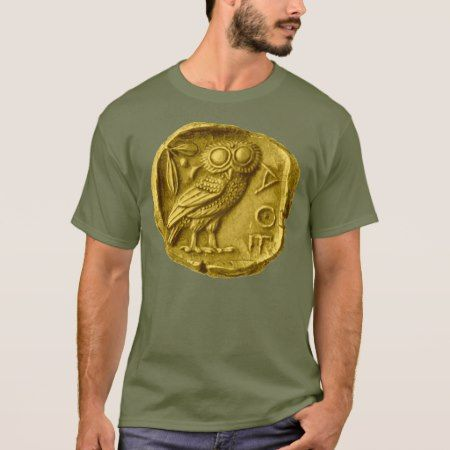 Owl Greek T-Shirt - tap, personalize, buy right now!