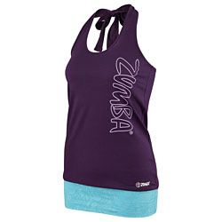 Zumba Shop Canada | Buy Burn It Up Bubble Halter Top - Berry Nice