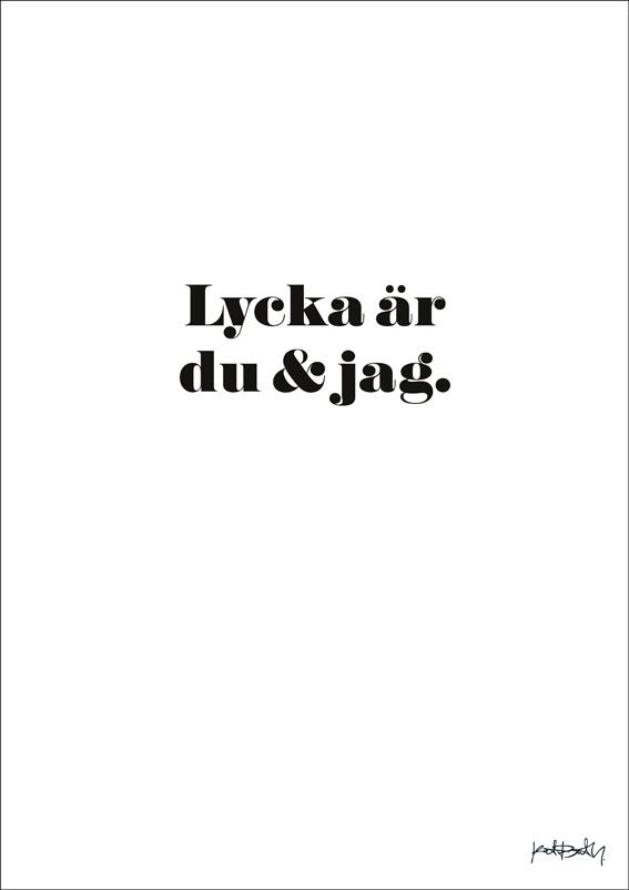 Lycka är av Katrin Bååth till salu på www.katrinb.se