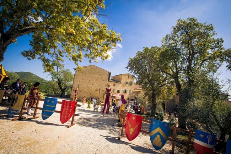 Medieval Wedding #BorgoColognola #Umbria #ItalyWedding #Wedding #Matrimonio #Perugia