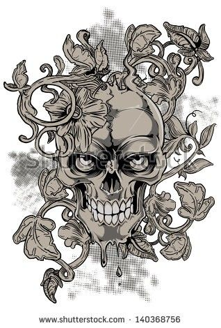 Pin By Amber Wiseman On Coloring Pages Design Skull And Logo