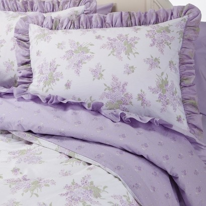 target simply shabby chic lilac duvet cover set or this one