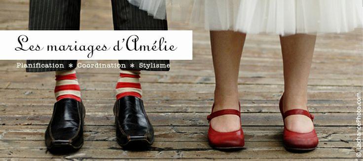 Les mariages d'Amélie - Planification et organisation de mariage à Montréal
