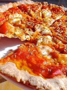 RECETA FIT/ La auténtica pizza italiana…fit!. fitfoodmarket