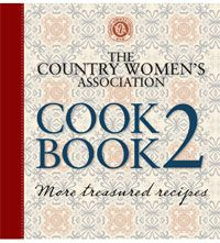 CWA Cookbook 2 - Country Women's Association New hardcover recipe book 2011