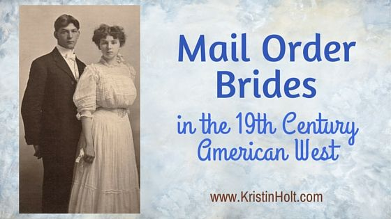 mail order brides american history A history of mail order brides in early  an engaging history of mail order  with an historian who shares their unique insights into our early american past.