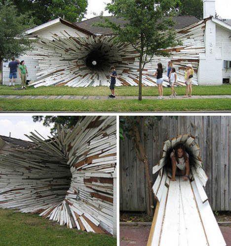 Artist unknown?! installation-art-tunnel-house-final