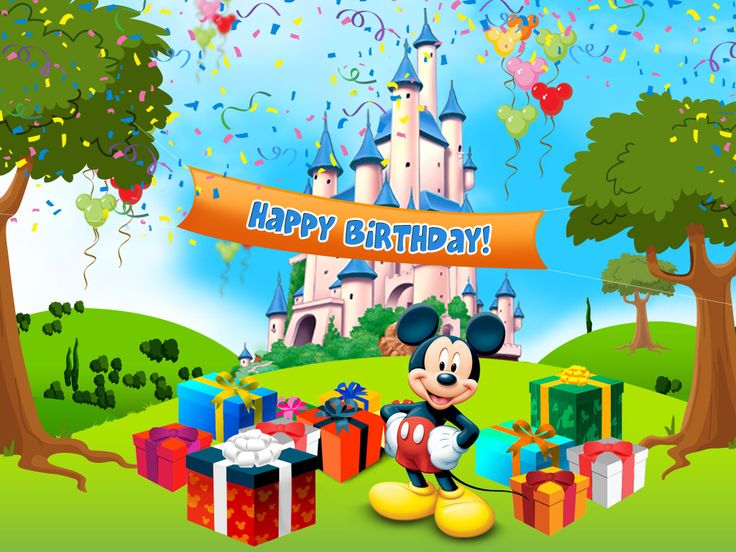 Huge List Of Birthday Freebies Disney Screensaver My
