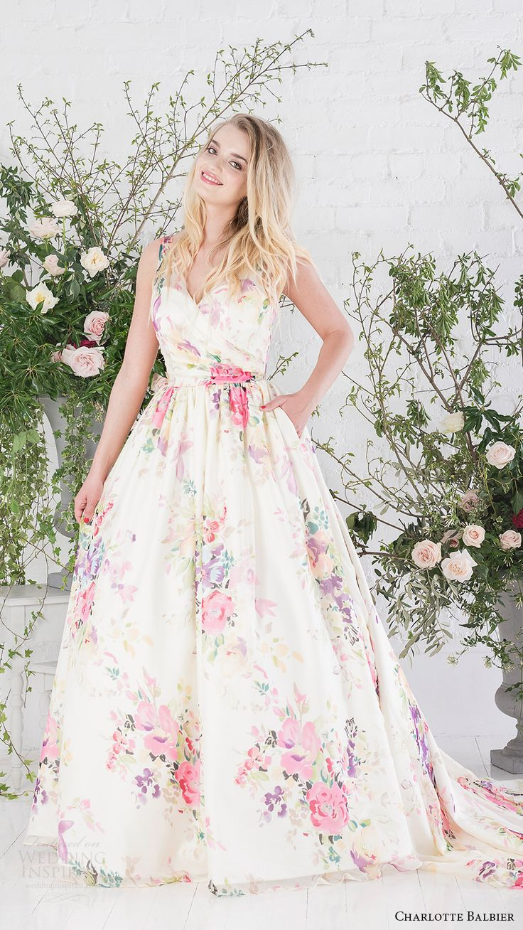 Roses In Garden: 25+ Best Ideas About Floral Wedding Dresses On Pinterest